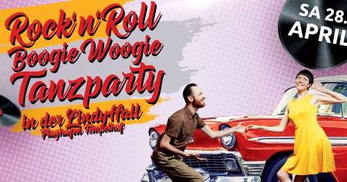 Rock'n'Roll Boogie Woogie Tanzparty