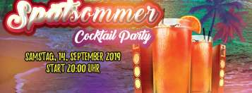 Spätsommer Cocktailparty